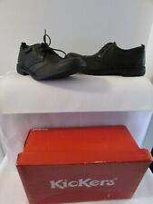 Shoes kickers Black Leather Size 40