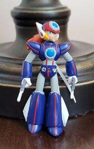 """Mega Man X AXL Action Figure Mini Toy Doll 3"""" Jazwares Complete 2004 Capcom"""