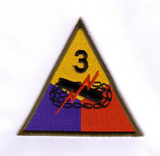 WWII - 3rd ARMORED DIVISION (Reproduction)