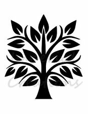 """""""Tree Of Life"""" Family Leaves 8.5"""" x 11"""" Stencil Plastic Sheet New S12"""