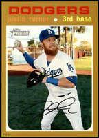 Justin Turner 2020 Topps Heritage 5x7 Gold #30 /10 Dodgers