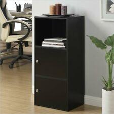 Convenience Concepts Xtra-Storage 2 Door Cabinet in Black