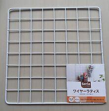 Japan Import - Kitchen Garden wire net hanging rack Mesh Memo Board wall mount