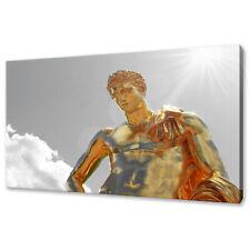 ANCIENT ART ROMAN EMPEROR STATUE CANVAS PRINT WALL ART PICTURE