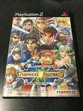 USED PS2 Namco x Capcom Japan