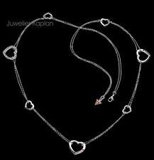 Guess Dame Herz Collier Kette Halskette mit Steinen UBN81004 NEU