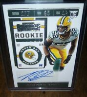 Rashan Gary Rookie Ticket Variation Auto Packers Michigan Autograph RC Green Bay