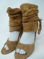 Women's Chinese Laundry Leather Sandals 7 M High Heel Leigh Kristin Cavallari Be