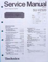 France Manual Service - Manuel réparation pour Technics SU-VZ320 Dispo France