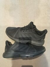 Adidas Courtjam Bounce Black Tennis Shoes UK10.5