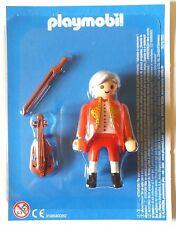PLAYMOBIL  Figura; Wolfgang Amadeus Mozart (Original Exclusiva) nuevo; blister
