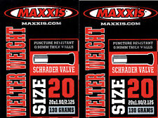 2x Maxxis Welter Weight Schlauch 26 x 1.90 2.125 AV Autoventil 36 mm
