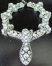 Authentic SWAROVSKI Crystal Massive Collar Rope Necklace In Presentation Box!