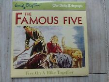ENID BLYTON FAMOUS FIVE ON A HIKE TOGETHER RARE CHILDRENS PROMO  AUDIO BOOK CD