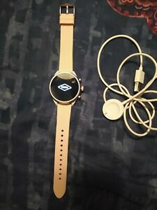 Fossil Sport 41mm Silicone Smartwatch - Blush