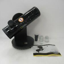 National Geographic Dobson Telescope 76mm Lens Diameter 350mm Focal Len 18x175