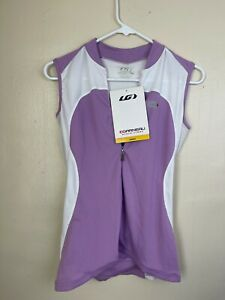 Louis Garneau Women's Breeze Jersey Medium Purp/Wht