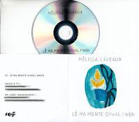 MELISSA LAVEAUX Le Ma Monte Chwal Mwen 2018 UK 1-trk promo test CD