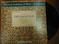 33 RPM Vinyl Henry Purcell Dido and Aeneas The Bach Guild HM46SD  021915SM