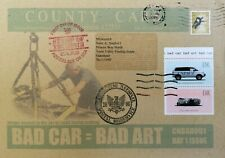 James CAUTY 1st Day Cover Bad Car = Bad Art  Addressed to Misteraitch rare!