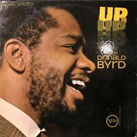 hard bop soul jazz LP DONALD BYRD Up With Byrd VERVE OG 1965 Herbie Hancock VG+
