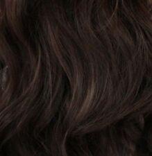 Extensions de cheveux longs bruns moyens pour femme