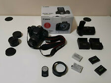 CANON EOS 700D + 50MM II 1.8 + 18-55 + BATTERY GRIP + 4 BATTERIE + LENTE