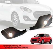 Full Set Spot Fog Light Lamp Kit With Cover For Suzuki Swift 2017 2018 2019