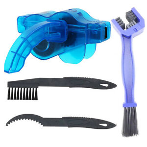 Cleaning Brushes Scrubber Cycling Bike Bicycle Chain Wheel Wash Cleaner Tool