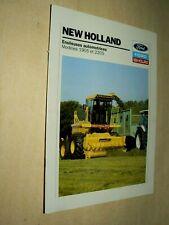 Prospectus Tracteur Ensileuse 2205 NEW HOLLAND Tractor Traktor Brochure Prospekt