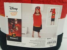 Incredibles 2 Hooded Bath Wrap 25 In x 50 In