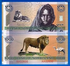 Somaliland CS1 1000 Shillings Year 2006 Uncirculated Banknote