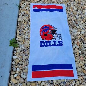 Vintage NFL Buffalo Bills Sports Towl 59×29 With Tags