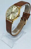 Vintage Watch Poljot Automatic Mechanical Gents Wrist Watch - 29 Jewel Runs USSR