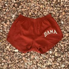 Vtg 70s Russell Alabama Crimson Tide Bama Shorts 80s Made In USA Roll Tide Sz S