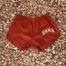 Vtg 70s Russell Alabama Crimson Tide Bama Shorts 80s Made In USA Roll Tide Sz M