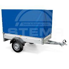 STEMA Aufbau Spriegel Plane Hochplane für Anhänger F 750 DBL 850 opti AN blau 1m