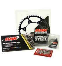 KAWASAKI KX250F 2006 - 2015 14T/49T RHK X-RING CHAIN & BLACK STEEL SPROCKET KIT