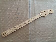 1pc 5string Maple 21 Fret  Bass Neck For Electric Bass Guitar Parts Replacment