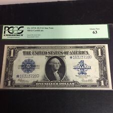 FR#237* Series 1923 $1 Silver Certificate.Pcgs Choice New 63.