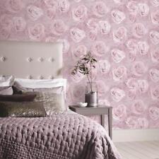 Reverie Rose Wallpaper Blush Pink - Arthouse 623302 Floral