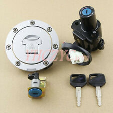 Motorcycle Ignition Switch Lock Gas Cap Set Lock Key for Honda VFR800 2002-2009