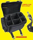 LARGE CAMERA BAG CASE for NIKON DSLR D3200 D 3200 V3 AW1 P530 P600 P7800 P610