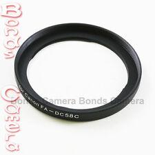 58mm 58 Mm cámara lente filtro anillo adaptador para Canon Fa-dc58c Powershot G1x