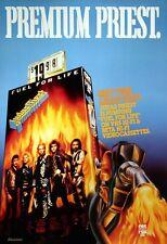 Judas Priest 1986 Fuel For Life Video Promo Poster