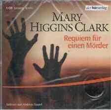 Mary Higgins Clark - Requiem für einen Mörder - Andreas Sippel - CD - NEU OVP