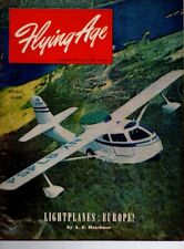 "Flying Age Magazine July 1946 Vol.53 No 3 ""Lightplanes : Europe!"""