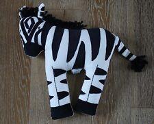 Pottery Barn Kids Zebra Decorative Pillow NWT