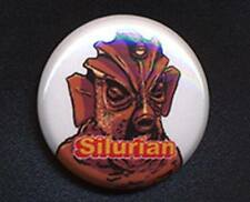 SILURIAN - DOCTOR WHO SUGAR SMACKS 'TRIBUTE' 25mm small badge button pin