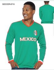Mexico Men's Soccer Long Sleeves Jersey New With Tags 2018 6715